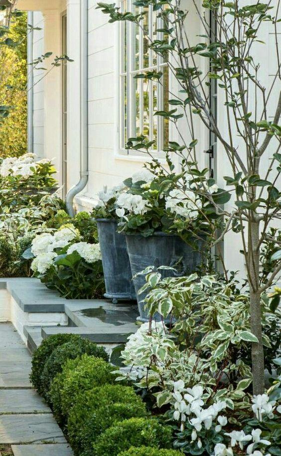 White garden strolls - Vicki Archer // https://www.instagram.com/vickiarcher/