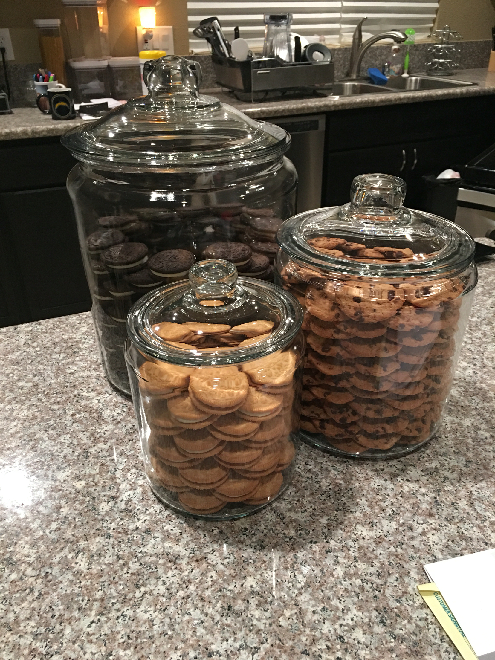 Khloe Kardashian's copy cat cookie jars
