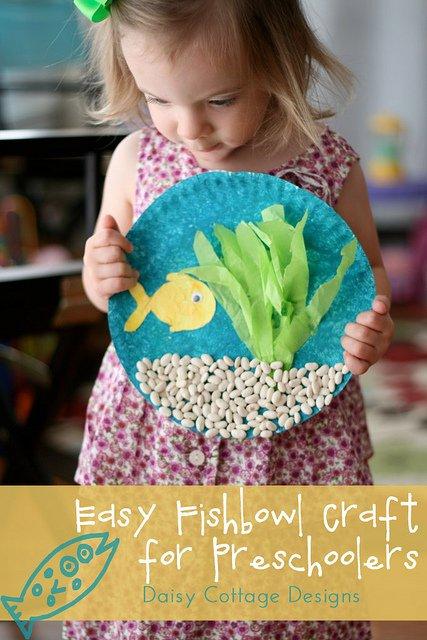 Easy Fishbowl Craft