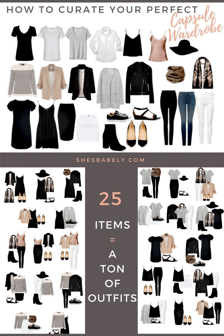 Build Your Perfect Capsule Wardrobe - Curate Your Capsule Wardrobe