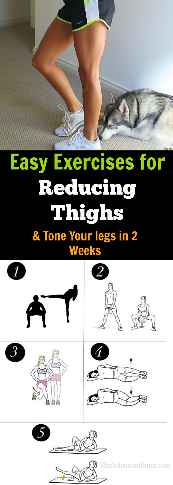 How do you tone your inner thighs and Shrink your thighs? Try these Easy Exercises for Reducing Thighs and Tone Your legs in 2