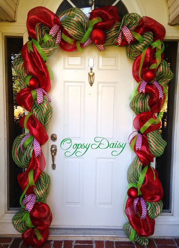 Christmas Door Decorations Ideas