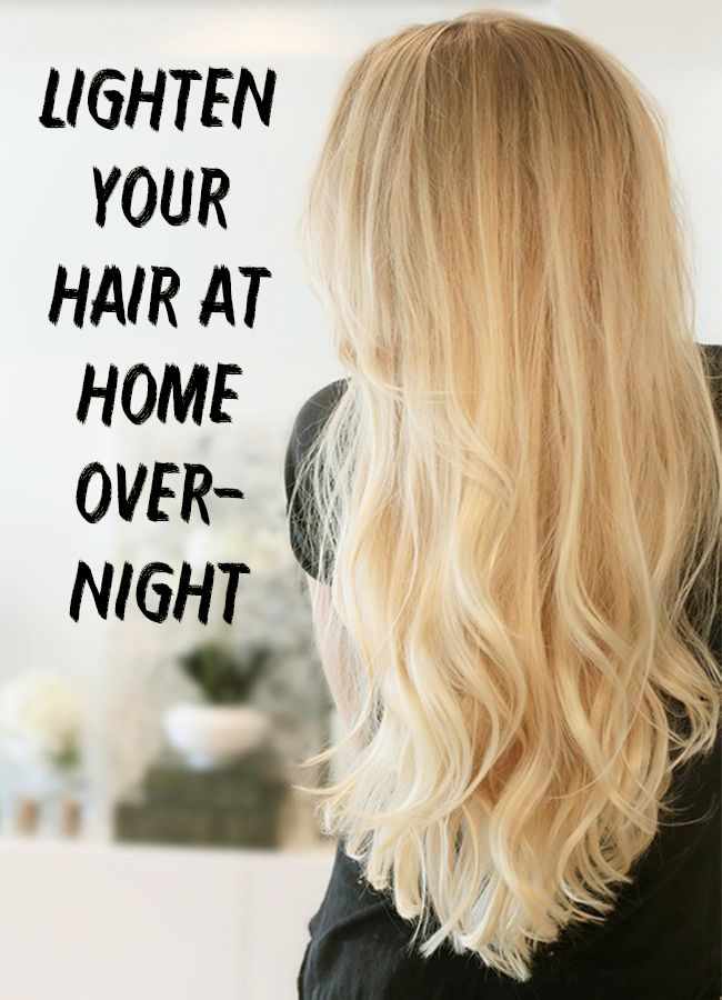 Find out how to naturally lighten your hair at home