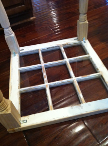 window into coffee table! Finally something to do with those windows I've had for years!! Add family pictures