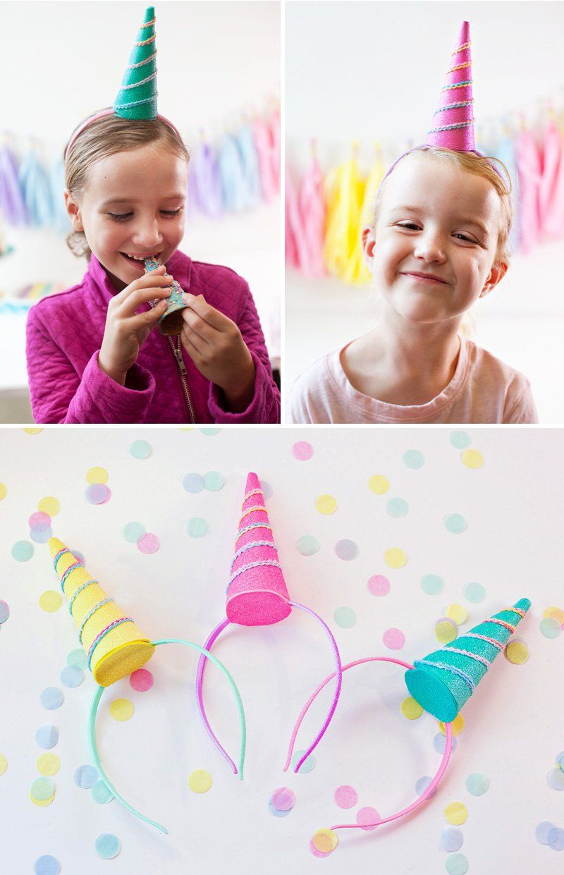 24 diy headbands unicorn