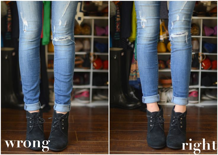 The Dos and Donts of Cuffing Your Jeans with Ankle Boots