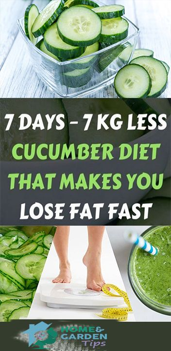 22 cucumber diet weightloss