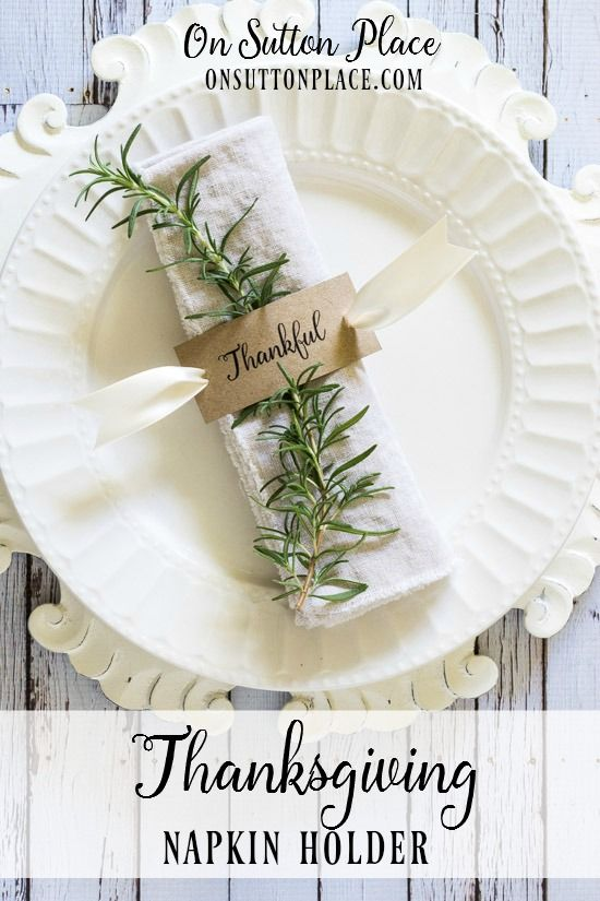 25 ribbon crafts thanksgiving