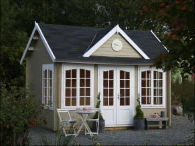 23 wooden garden room