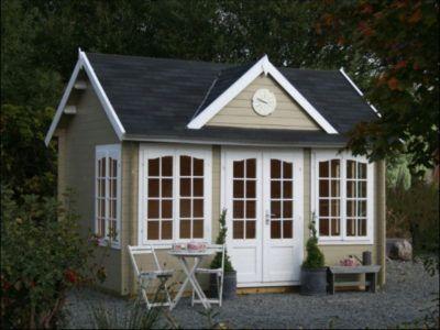 23 wooden garden room ideas