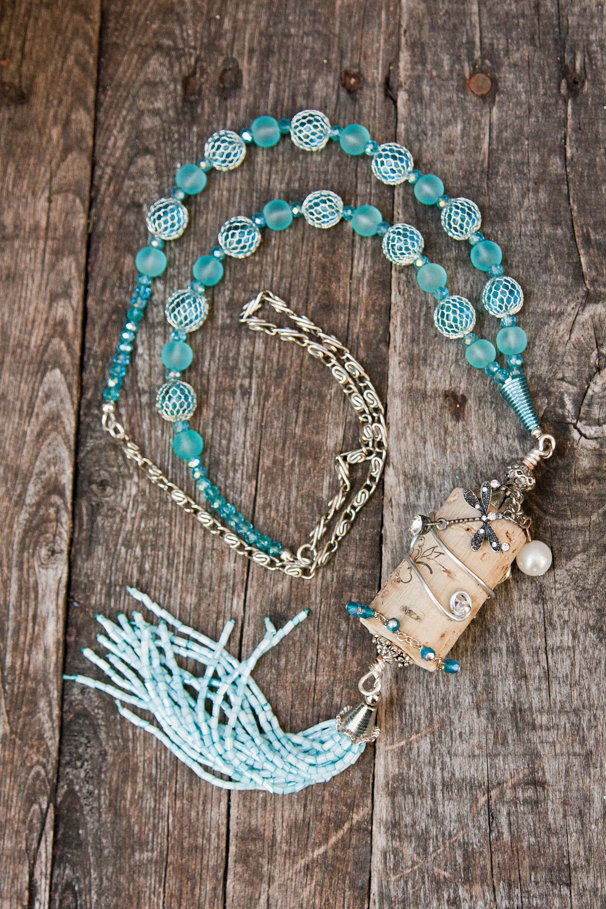 21 cork crafts jewelry