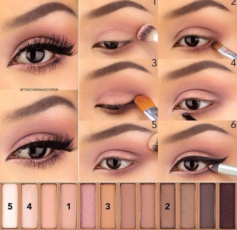 24 urban style smokey eye
