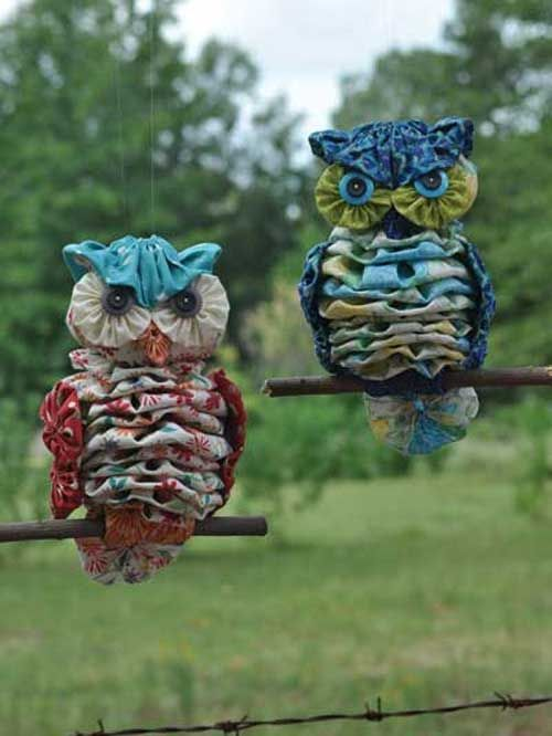 24 fabric owl crafts ideas