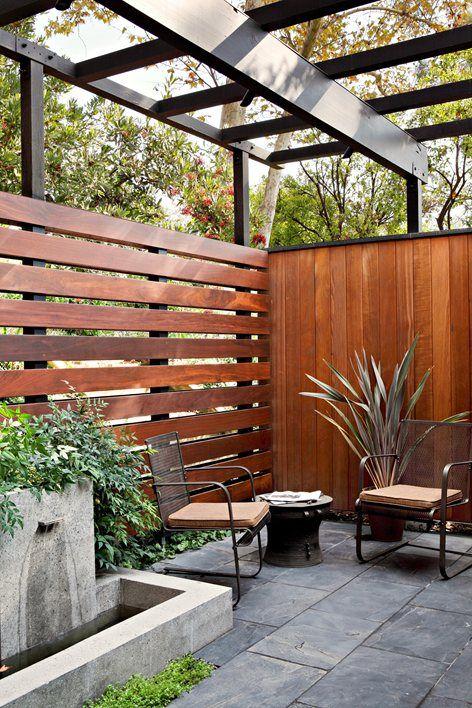 23 mid century modern garden ideas