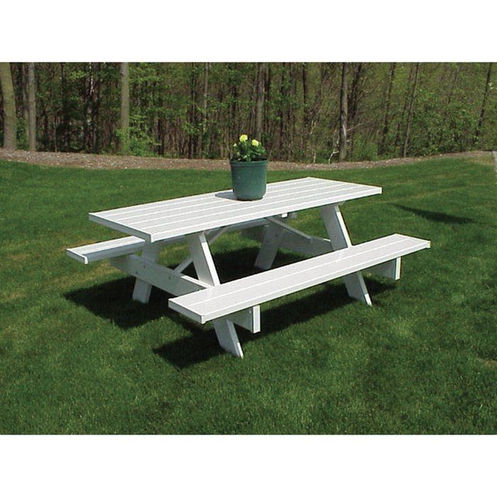 23 garden seating picnic tables
