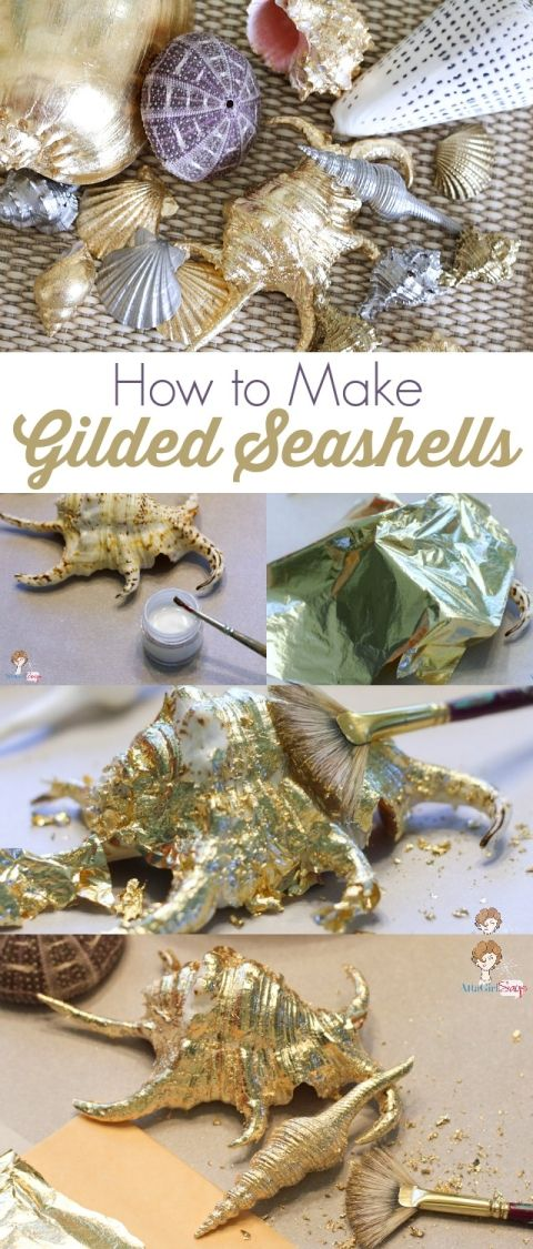 22 easy seashell crafts