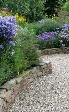 24 english garden wall