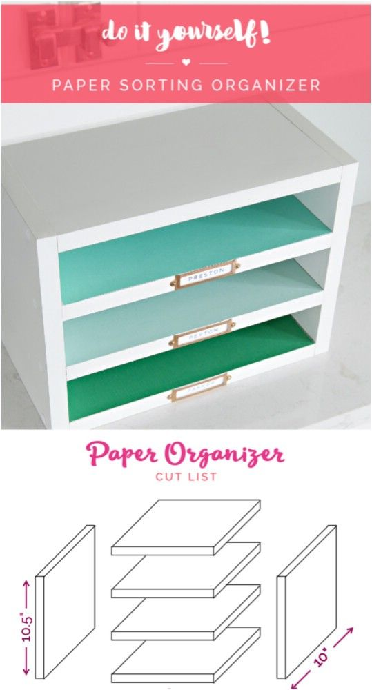 25 diy paper organization ideas
