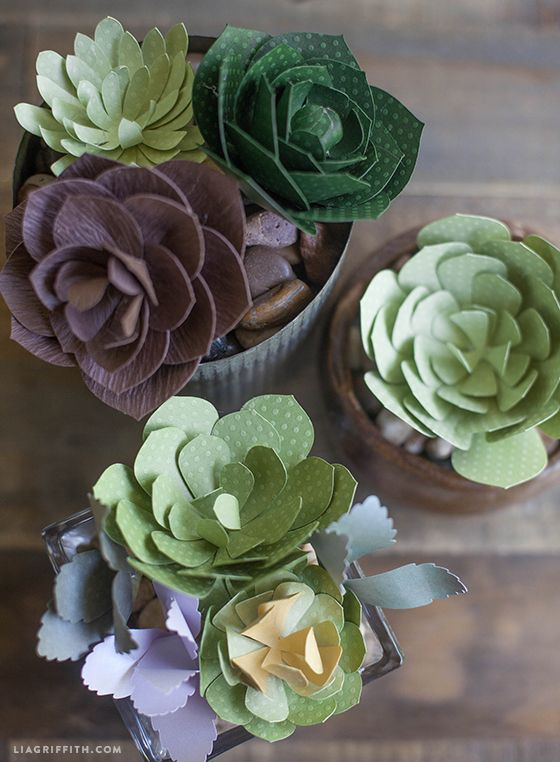 23 diy paper cactus