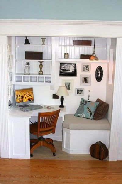 22 diy closet office