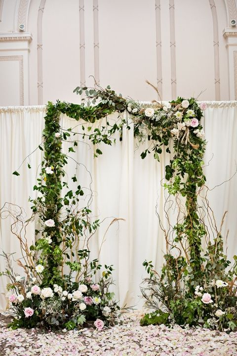 24 indoor garden wedding