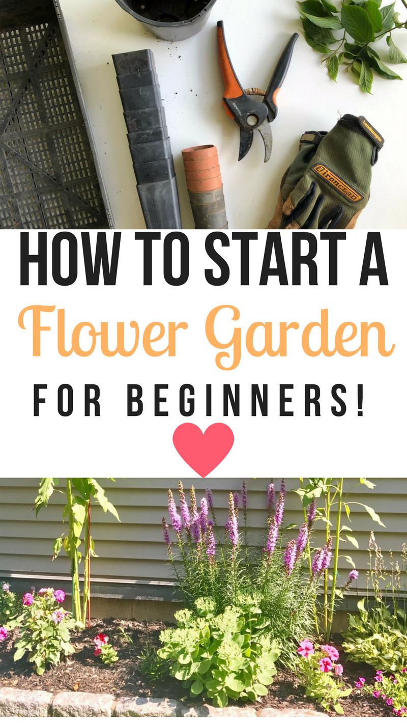 How to start a flower garden for beginners! A step-by-step guide -   24 flower garden crafts ideas
