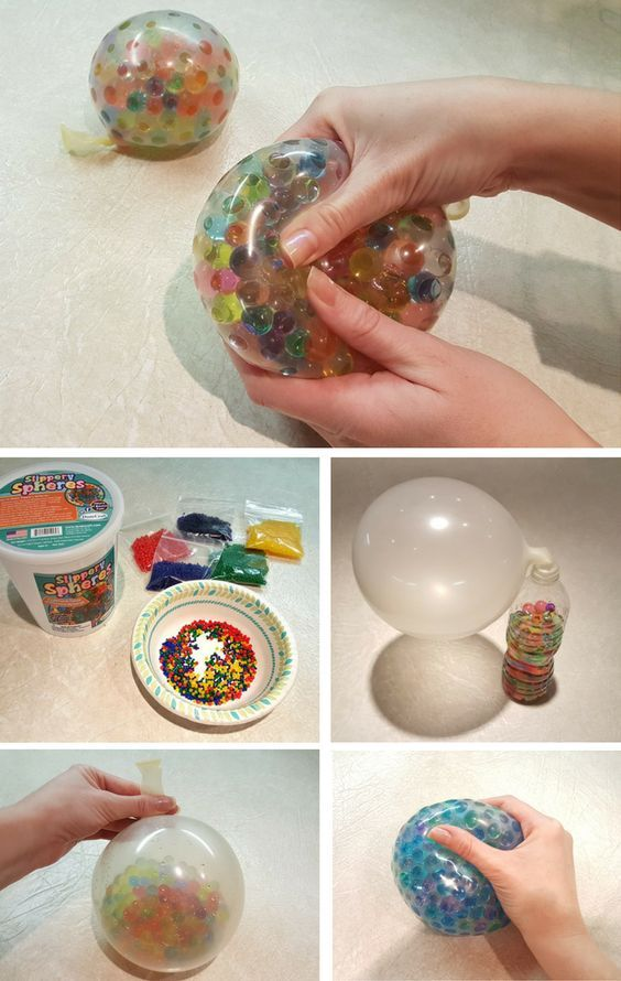 Sensory Balls – DIY STEAM Activity -   24 easy crafts for 10 year olds ideas