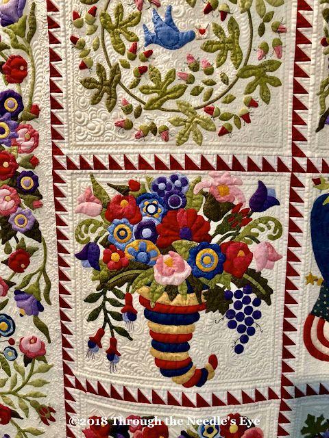 It's All About Appliqué! -   24 flower garden crafts ideas