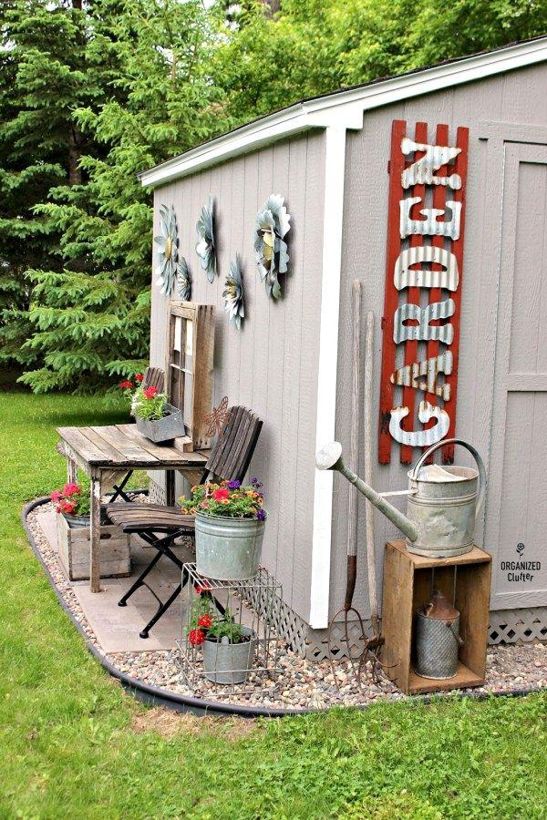 24 outdoor garden spaces ideas