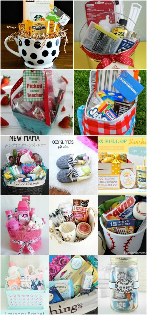 30 Easy And Affordable DIY Gift Baskets For Every Occasion -   20 crafts gifts love ideas