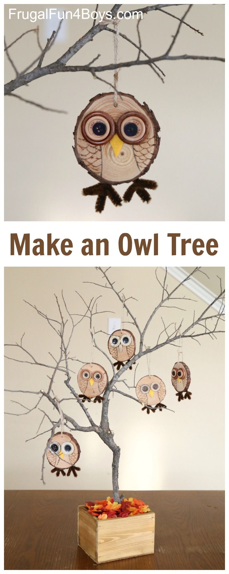 24 fun fall crafts