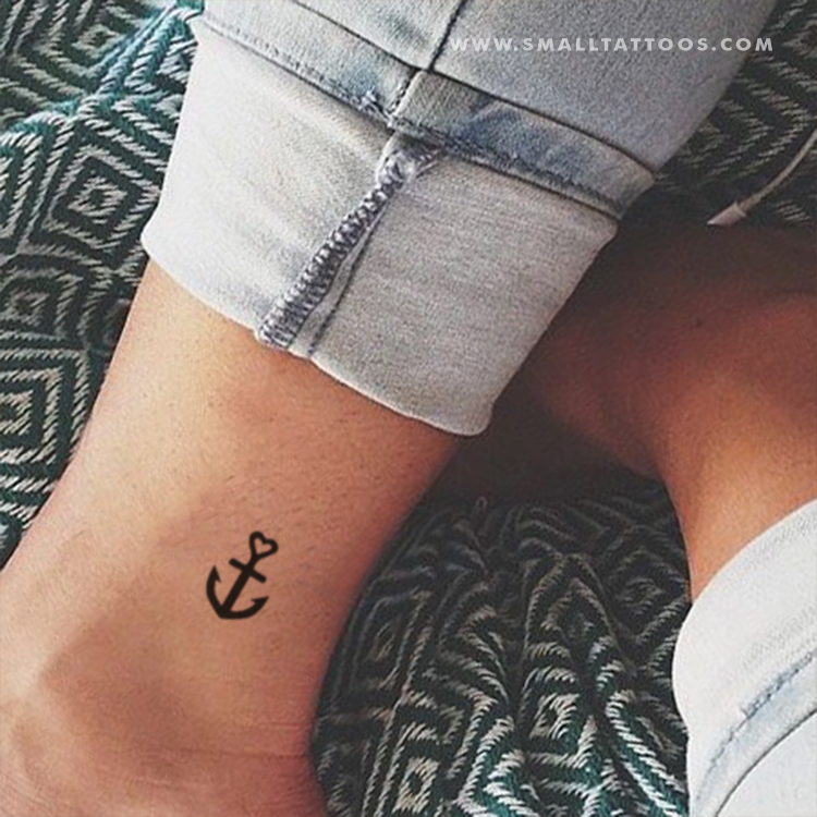 25 little anchor tattoo