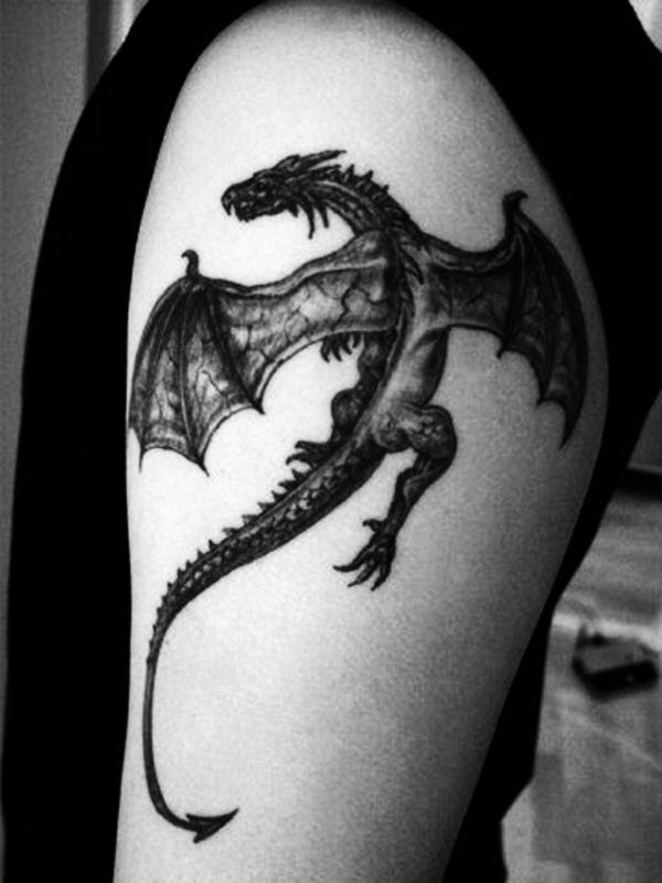 18 dragon tattoo man