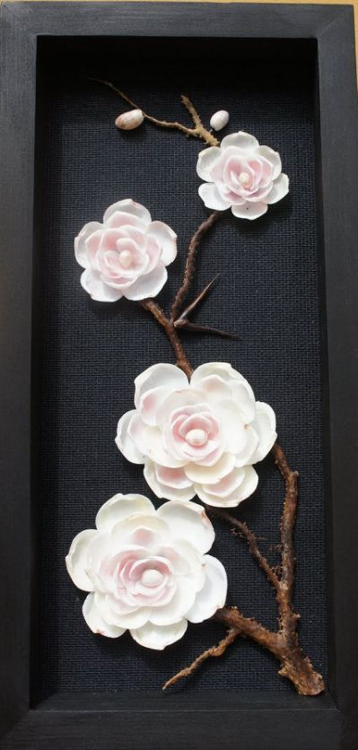 21 shell crafts seashell art ideas