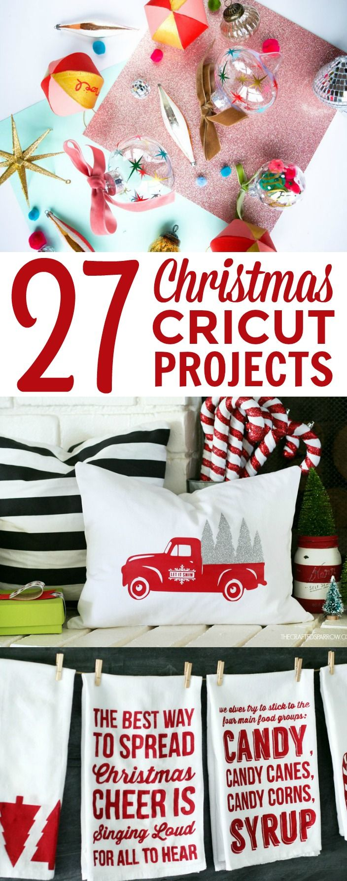 27 Christmas Cricut Projects -   20 crafts gifts love ideas