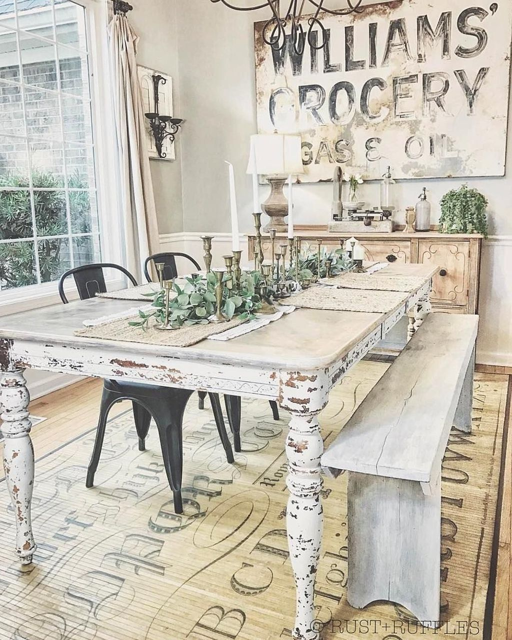 18 farmhouse decor dining