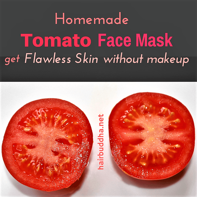 Tomato Face Mask: Get Flawless Skin Without Makeup -   17 diy face whitening ideas