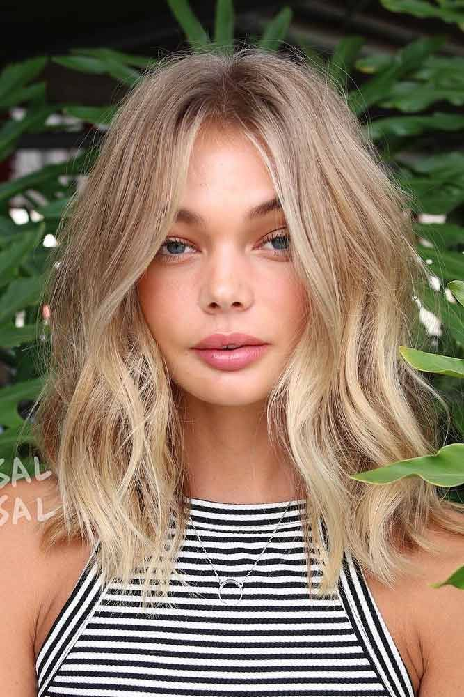 12 hairstyles Natural highlights ideas