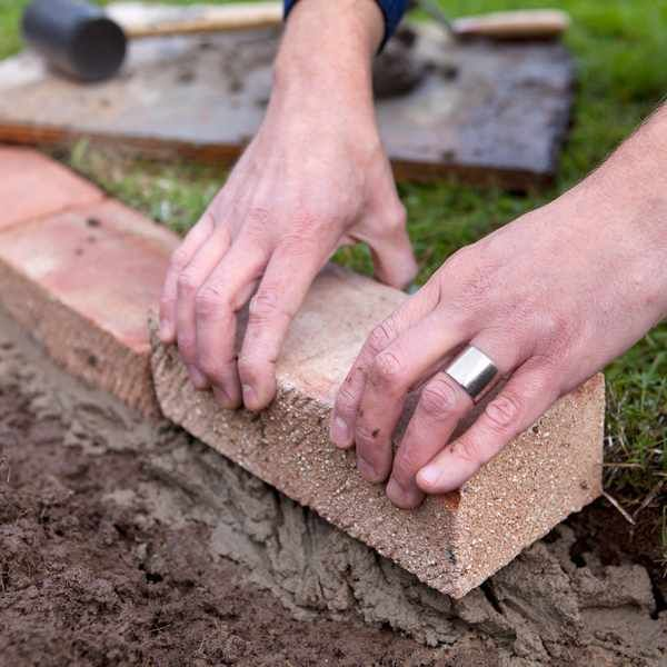 21 brick garden edging ideas