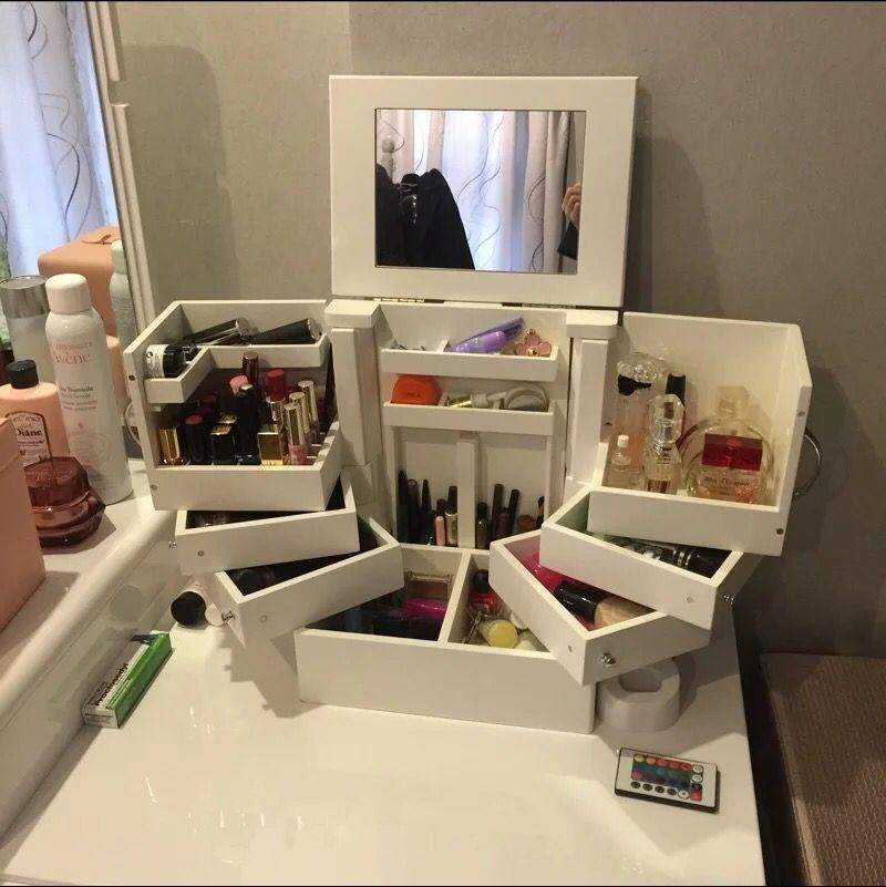 17 makeup Storage box ideas