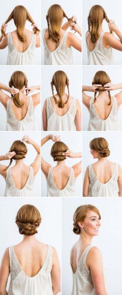 16 hairstyles Quick lazy girl ideas