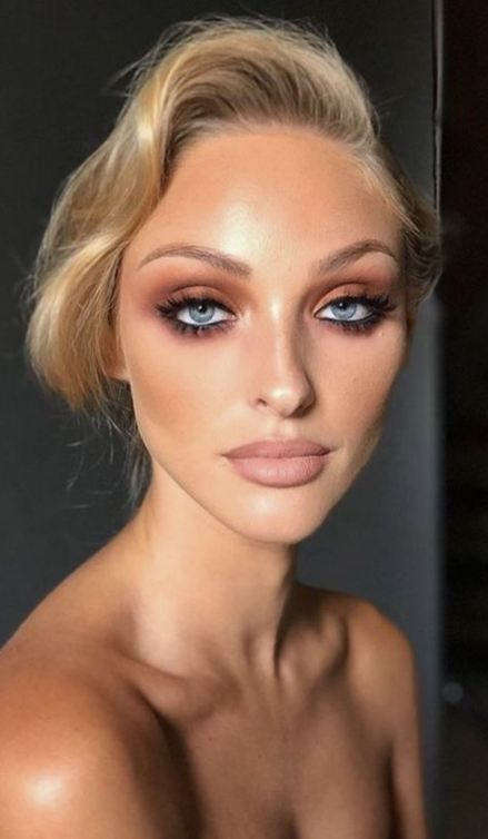 12 makeup Wedding glam ideas