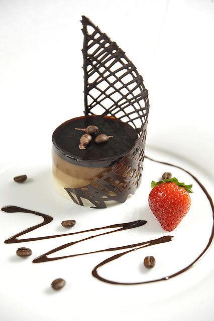 10 desserts Plating fine dining ideas