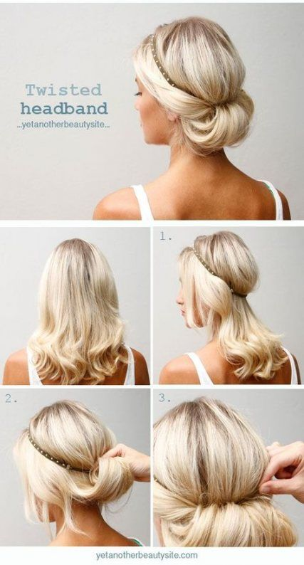 11 hairstyles For Medium Length Hair no heat ideas