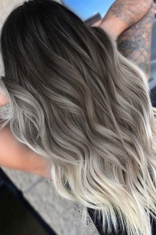 Fashion Grey Hign-temperature Wigs -   10 hair Gray faces ideas