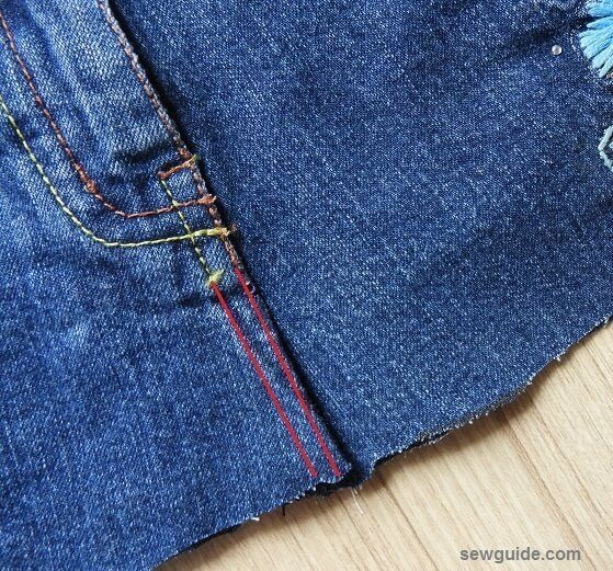 7 DIY Clothes Denim tote bags ideas