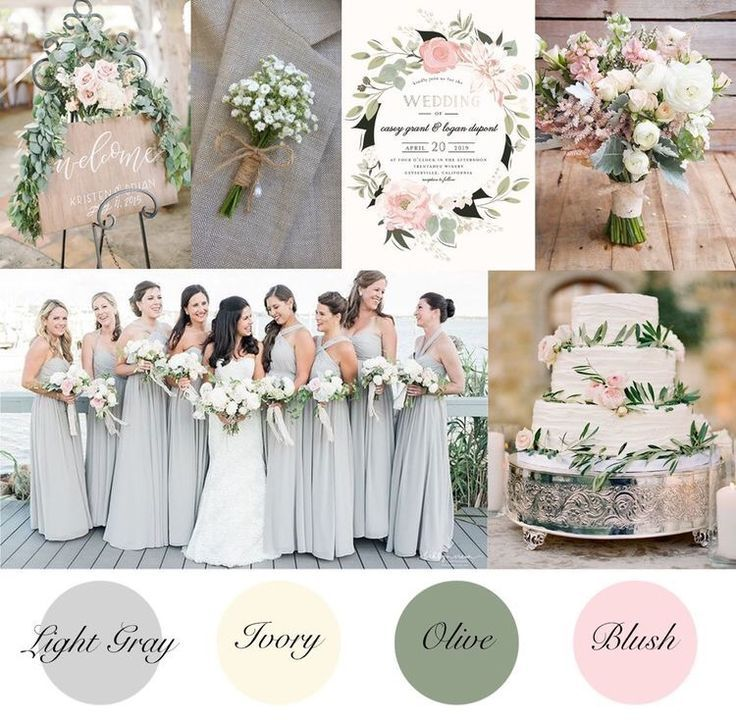 16 wedding Summer colour palettes ideas