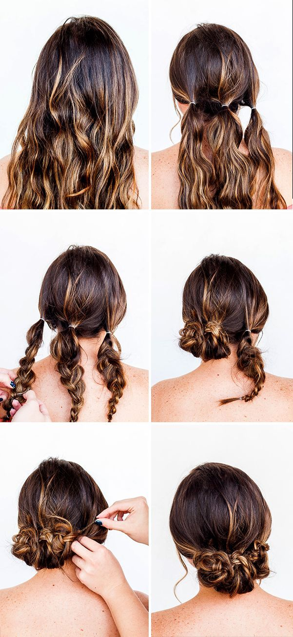 15 hairstyles Tutorial beauty hacks ideas