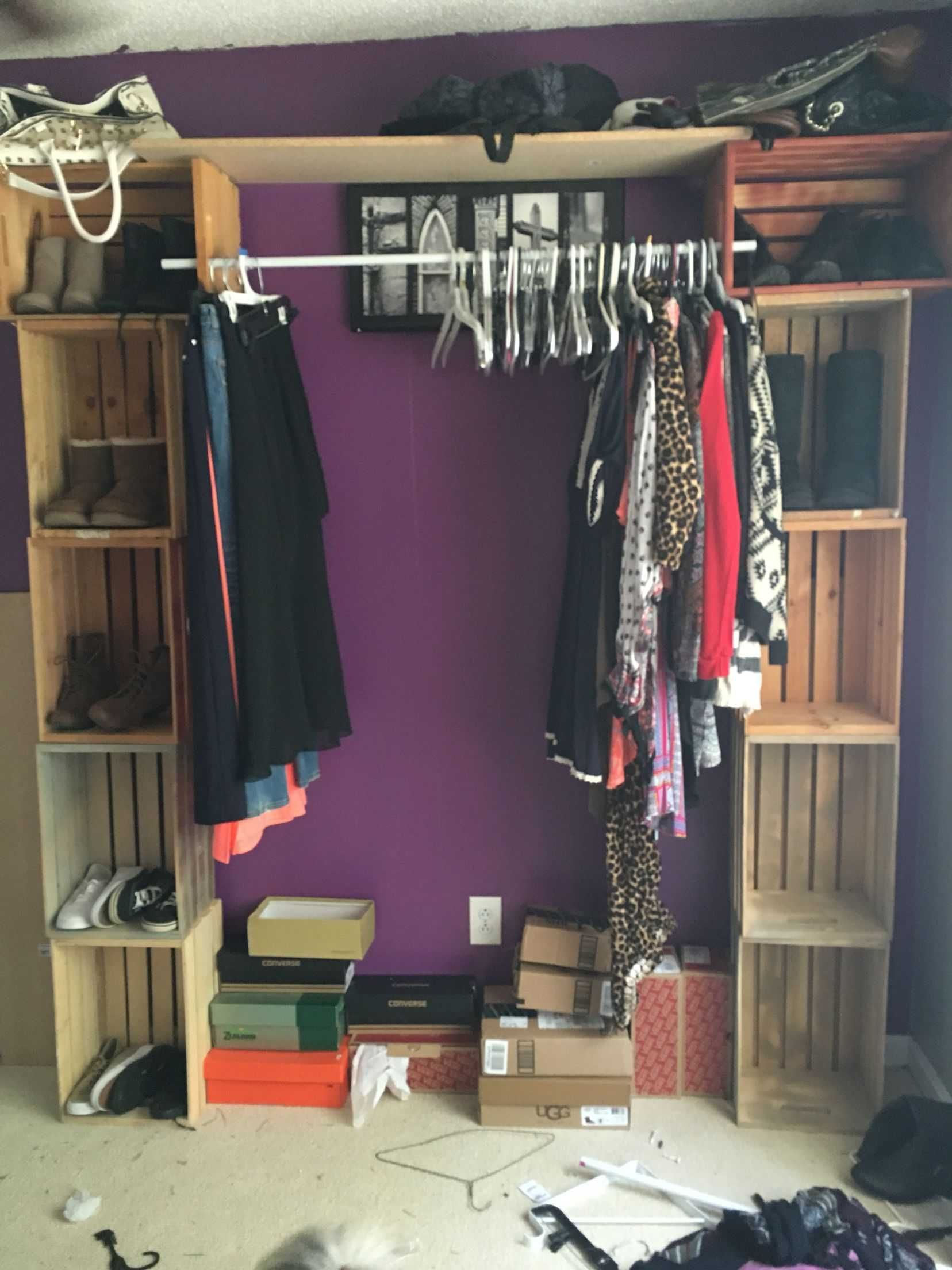 11 DIY Clothes Closet fun ideas