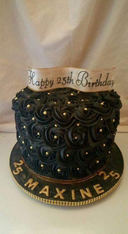 12 black cake Birthday ideas